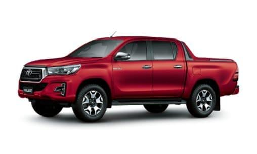 TOYOTA HILUX 2.4E 4X2 AT MLM kien giang